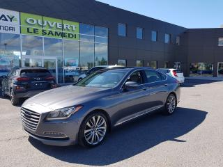 Used 2016 Hyundai Genesis Htrac Ultimate, mags, cuir, toit pano, nav for sale in Chambly, QC