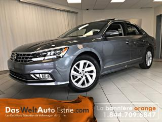 Used 2018 Volkswagen Passat 2.0 TSI Comfortline, Automatique Très Bas Kilo! for sale in Sherbrooke, QC