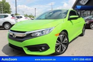Used 2016 Honda Civic EX-T **TURBO** FINANCEMENT FACILE !! for sale in Laval, QC