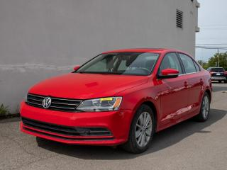 Used 2015 Volkswagen Jetta TRENDLINE+ *TOIT* SIEGES CHAUFFANTS *CAMERA* PROMO for sale in St-Jérôme, QC