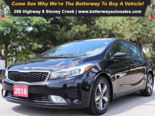 Used 2018 Kia Forte LX+| Gas Saver!| Backup Cam| Heat Seat for sale in Stoney Creek, ON