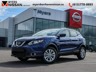 New 2019 Nissan Qashqai AWD SV CVT  - Sunroof - $204 B/W for sale in Nepean, ON