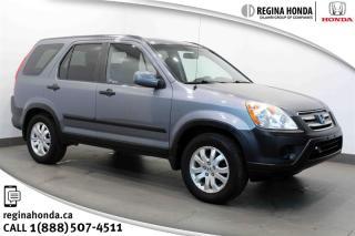 Used 2005 Honda CR-V EX 5 SPD RARE!!! 5 speed, 4WD, Local Trade! for sale in Regina, SK