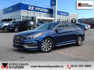 Used 2015 Hyundai Sonata 2.4L SPORT TECH  - $101 B/W for sale in Ottawa, ON