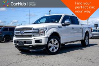Used 2018 Ford F-150 Platinum|4x4|Navi|Pano Sunroof|Backup Cam|R-Start|Bluetooth|Blind Spot|Leather|20