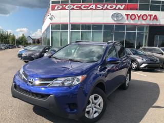 Used 2015 Toyota RAV4 LE AWD AIR/CRUISE/SIEGESCHAUFF * 16 288KM WOW!! * for sale in St-Eustache, QC