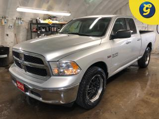 Used 2016 Dodge Ram 1500 SLT * Quad Cab * 4X4 * 5.7L HEMI V8 with VVT and MDS * 20 Inch black alloy rims * 8-speed TorqueFlite auto. trans * Uconnect 5.0-inch Touch/Hands-free for sale in Cambridge, ON