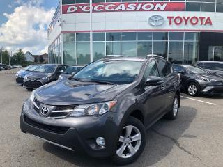 Used 2013 Toyota RAV4 XLE AWD MAGS/FOGS/TOIT **SEULEMENT 75 651KM** for sale in St-Eustache, QC