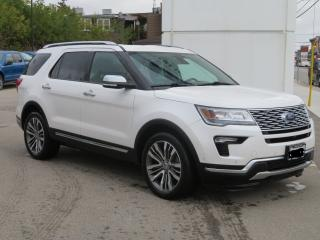 Used 2018 Ford Explorer Platinum 4wd for sale in Hagersville, ON
