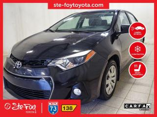 Used 2016 Toyota Corolla S Phare anti-brouillard, Sièges chauffants for sale in Québec, QC