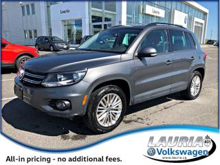Used 2015 Volkswagen Tiguan 2.0 TSI SE 4MOTION AWD for sale in PORT HOPE, ON