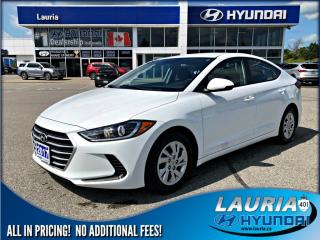 Used 2017 Hyundai Elantra LE for sale in Port Hope, ON