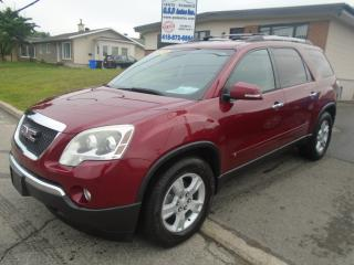 Used 2010 GMC Acadia SLE2 for sale in Ancienne Lorette, QC
