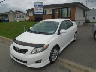 Used 2009 Toyota Corolla for sale in Ancienne Lorette, QC