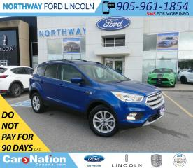 Used 2018 Ford Escape SE | PWR HTD SEATS | BACKUP CAM | KEYLESS ENTRY | for sale in Brantford, ON