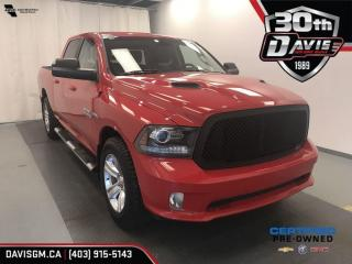 Used 2014 RAM 1500 SPORT for sale in Lethbridge, AB