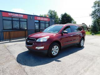 Used 2009 Chevrolet Traverse LS|7 PASSENGER|AUX|REAR AIR|ACCIDENT FREE for sale in St. Thomas, ON