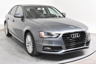 Used 2015 Audi A4 EN ATTENTE D'APPROBATION for sale in Île-Perrot, QC