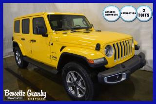Used 2019 Jeep Wrangler Sahara==2 TOITS==AUTO for sale in Cowansville, QC