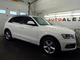 Used 2015 Audi Q5 2.0T QUATTRO CUIR MAGS BLANC / NOIR 78,000KM for sale in St-Eustache, QC