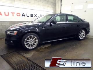 Used 2015 Audi A4 2.0T S-LINE NAVIGATION CAMERA QUATTRO MAGS 18 for sale in St-Eustache, QC