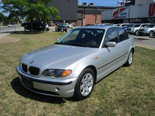 Used 2003 BMW 3 Series 325i~LEATHER~SUNROOF~ALLOY WHEELS~CERTIFIED for sale in Toronto, ON