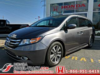 Used 2015 Honda Odyssey Touring. 4 portes avec RES et Navi for sale in Sorel-Tracy, QC