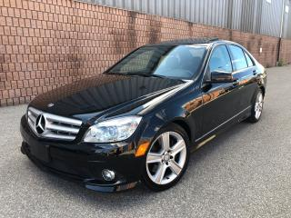 Used 2010 Mercedes-Benz C-Class C300 - 4MATIC - NAVIGATION - SUNROOF for sale in Toronto, ON