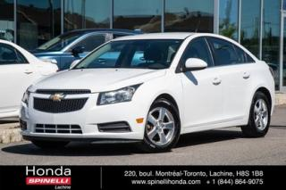 Used 2012 Chevrolet Cruze LT Turbo+ w/1SB MAGS CRUISE BLUETOOTH AUTO MAGS CRUISE BLUETOOTH for sale in Lachine, QC