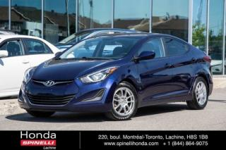 Used 2014 Hyundai Elantra GL AUTO MAGS BLUETOOTH AUTO MAGS CRUISE BLUETOOTH for sale in Lachine, QC