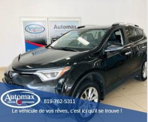 Used 2016 Toyota RAV4 LIMITED  for sale in Rouyn-Noranda, QC