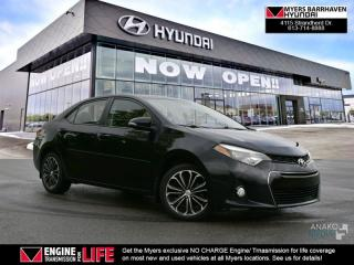 Used 2015 Toyota Corolla S  - Bluetooth - $73.89 /Wk for sale in Nepean, ON