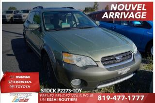 Used 2006 Subaru Outback INTEGRAL* TOIT PANO* for sale in Drummondville, QC