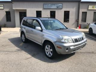 Used 2006 Nissan X-Trail Bonavista AWD Auto,PANORAMIC SUNROOF,NO ACCIDENTS for sale in Burlington, ON