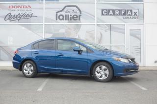Used 2013 Honda Civic LX ***GARANTIE 10ANS/200 000KM for sale in Québec, QC