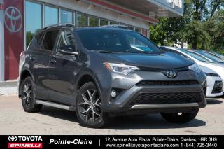 Used 2017 Toyota RAV4 SE AWD NAVIGATION, CUIR, TOIT, MAGS for sale in Pointe-Claire, QC