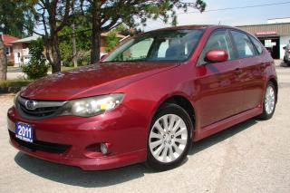 Used 2011 Subaru Impreza 2.5i w/Limited Pkg for sale in Mississauga, ON