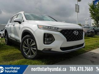 Used 2020 Hyundai Santa Fe LUX: LEATHER/SUNROOF/BLUELINK/COOLED SEATS/SMART LIFTGATE for sale in Edmonton, AB