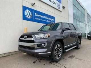 Used 2016 Toyota 4Runner SR5 4WD - LEATHER / HEATED + COOLED SEATS / SUNROOF for sale in Edmonton, AB