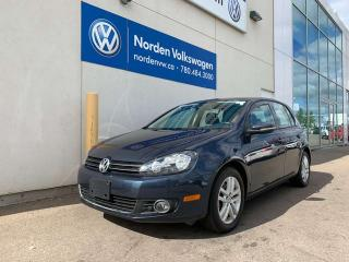 Used 2011 Volkswagen Golf 2.0L TDI HIGHLINE W/ TECH PKG - LEATHER / SUNROOF for sale in Edmonton, AB