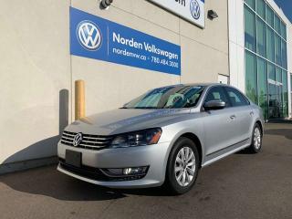 Used 2014 Volkswagen Passat 2.0L TDI TRENDLINE / VW CERTIFIED / HEATED SEATS for sale in Edmonton, AB