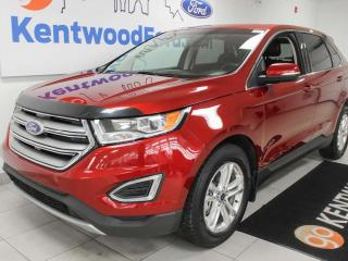 Used 2015 Ford Edge SEL FWD with keyless entry, power heated seats, auto start/stop, and back up cam for sale in Edmonton, AB
