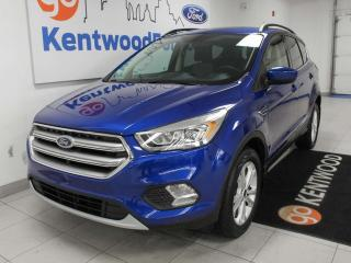 Used 2017 Ford Escape SE 4WD ecoboost with keyless entry, power heated seats, and back up cam for sale in Edmonton, AB