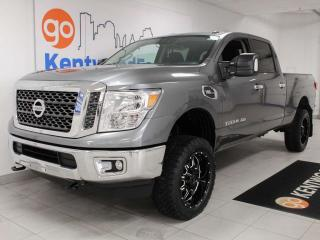 Used 2018 Nissan Titan XD SV 4X4 Crew Cab with 3 front seats, auto start/stop and back up cam for sale in Edmonton, AB