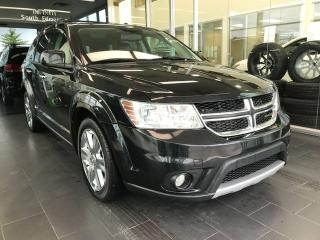 Used 2012 Dodge Journey R/T AWD, SUNROOF, POWER HEATED LEATHER SEATS, NAVI for sale in Edmonton, AB