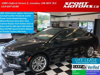 Used 2015 Chrysler 200 C AWD+Pano Roof+Xenons+Camera+Cooled Leather+A/C for sale in London, ON