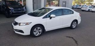 Used 2015 Honda Civic Sedan LX; BACKUP CAMERA, HEATED SEATS, BLUETOOTH AND MORE for sale in Edmonton, AB