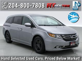 Used 2017 Honda Odyssey Touring for sale in Winnipeg, MB