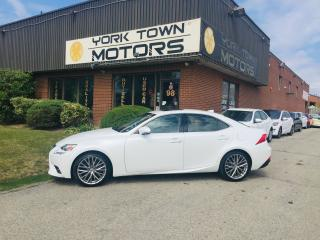 Used 2014 Lexus IS 250 Luxury Pkg/AWD/Nav/SunRoof/HeatedSeatsRCam/ for sale in North York, ON