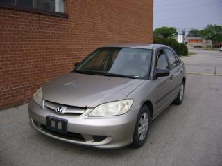 Used 2005 Honda Civic SE for sale in Oakville, ON